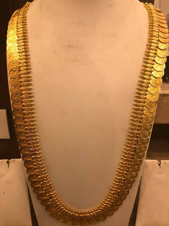 Beautiful Kasula Peru Aprox Weight 180 To 200 Grams Long Haaram Gold Jewellery Design Necklaces Gold Necklace Indian Bridal Jewelry Bridal Jewelry Collection