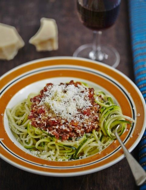 Hemsley And Hemsley Beef or Lamb Ragu and Courgetti