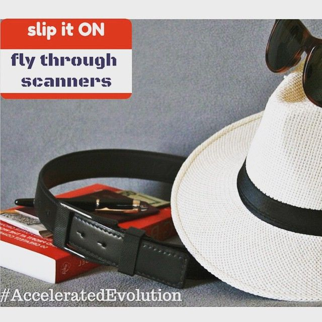 Fly through with ease. #KASPARI #a #carbonfiber #buckle #belt with #style That #is #whatsetsyouapart .#acceleratedevolutionBecause freedom is #priceless / #panama / #rayban / #montblanc / #passport