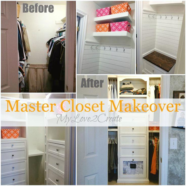 Master Closet Makeover REVEAL!