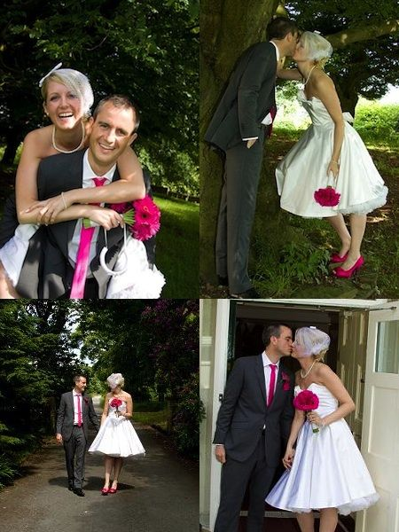 Pink Rockabilly Wedding ... Wedding Ideas For Brides, Grooms, Parents U0026  Planners