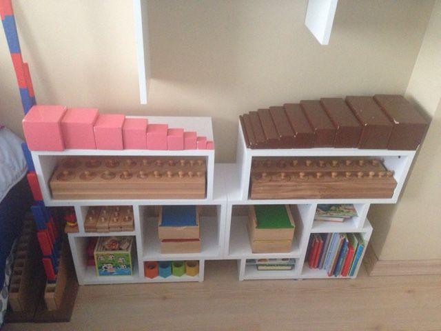 can ve cerenin oyun günlüğü: Montessori Köşemiz