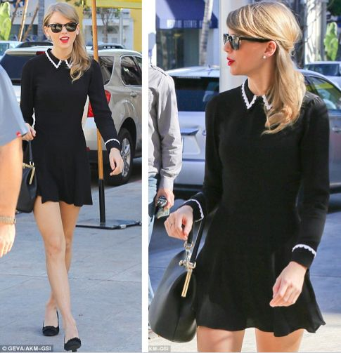 Taylor Swift Bouchon Lunch with New Friend Jaime King! Photo Taylor Swift and Jaime King both look so chic while leaving Bouchon Restaurant after a gal ...  sc 1 st  Pinterest & 51 best Taylor Swift Style images on Pinterest | Taylor swift ... Aboutintivar.Com