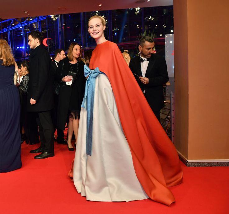 ELLE FANNING at Berlin International Film Festival Opening 02/15/2018