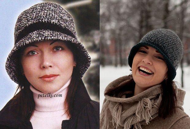 Вязание спицами: модные зимние шапки для женщин 2016