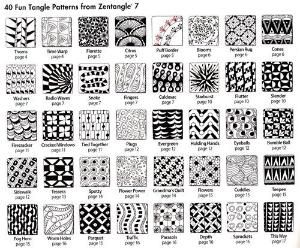 How to Zentangle Patterns Free | Zentangle 4, Inspiring Circles, Zendalas & Shapes by Suzanne McNeill ... by ebony