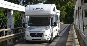Avida - Maker of the Australian Winnebago has been crossing bridges all over Australia and New Zealand since 1965.