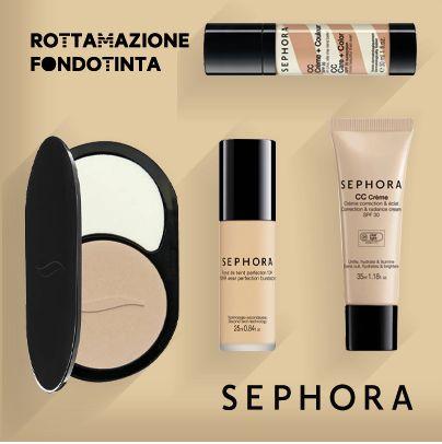 Rottama il fondotinta: sconto 20% da Sephora - http://www.omaggiomania.com/buoni-sconto/rottama-fondotinta-sconto-20-sephora/?utm_source=Pinterest&utm_medium=PN_organic