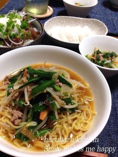 クッパ風野菜たっぷりスタミナラーメン‼  スープが美味しすぎ〜♡ by ...