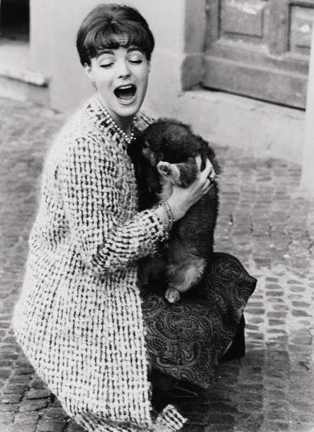 """ Romy Schneider photographed by Sam Shaw, c. 1960 """