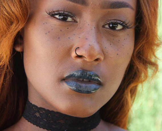Fake Black Nose Ring Gold Nose Ring Fake Nose Ring Silver Black