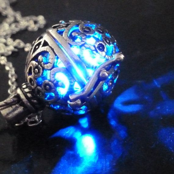 Steampunk FIRE necklace pendant charm locket by UmbrellaLaboratory, $29.99