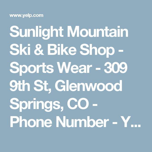 Sunlight Mountain Ski & Bike Shop - Sports Wear - 309 9th St, Glenwood Springs, CO - Phone Number - Yelp