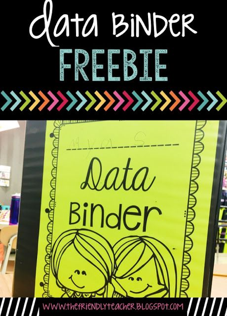The Friendly Teacher: Data Binders in the Early Elementary Classroom
