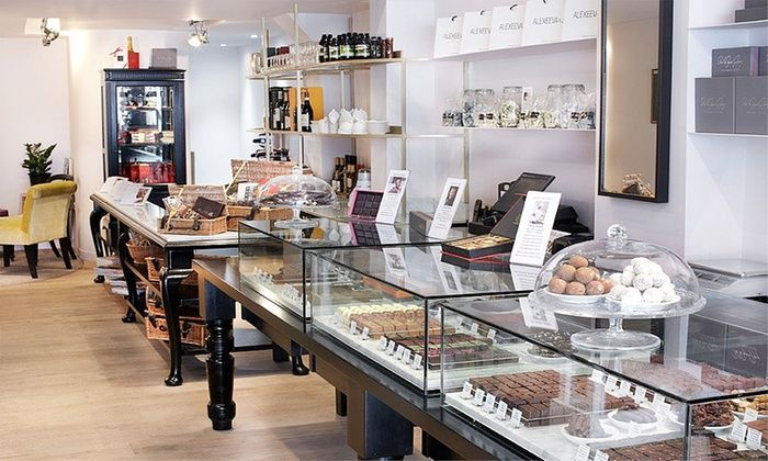 Alexeeva & Jones - London: Chocolate Afternoon Tea For Two from £11 at Alexeeva & Jones (Up to 49% Off)