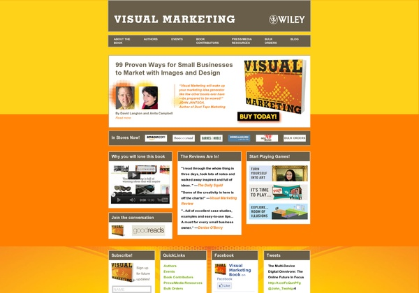 Playing with URL2Pin.IT. You can pin screen shots of websites! http://www.visualmarketingbook.com via @url2pin