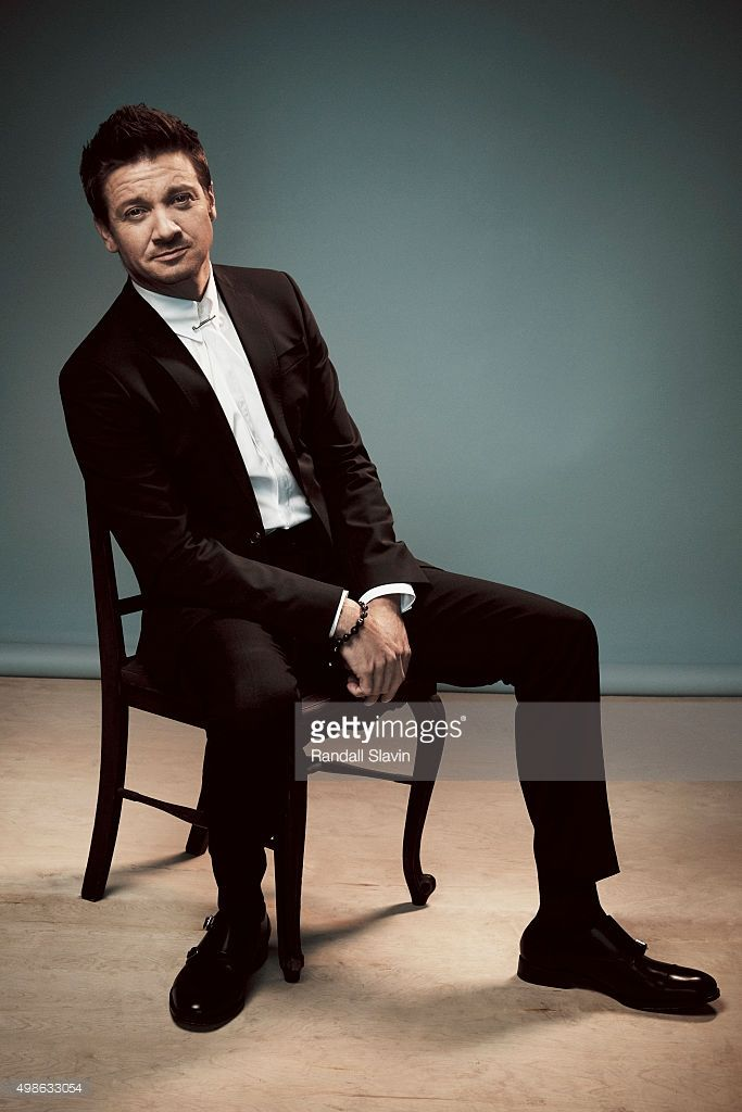 Actor Jeremy Renner poses for a portrait at the 2015 American Music Awards on November 22, 2015 in Los Angeles, California.