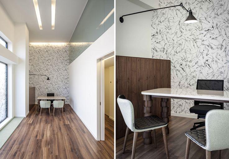 Clinica del Pie _JS - Chiropody Clinic by #estudihac #interiors #workspaces #clinic #sancal #vondom #trestintas #interiordesign