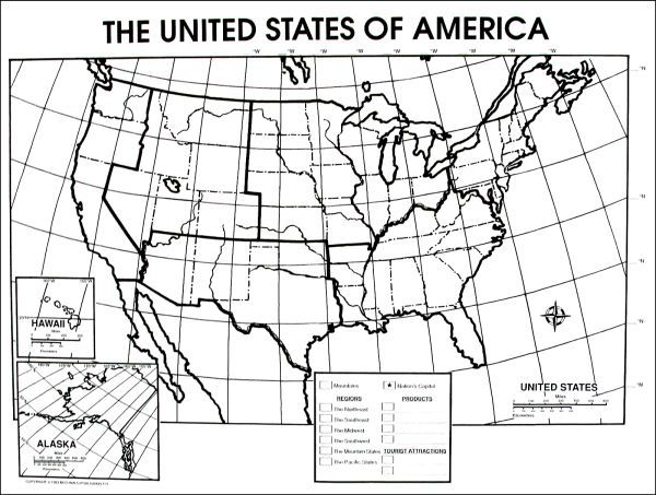 United States Activity Poster