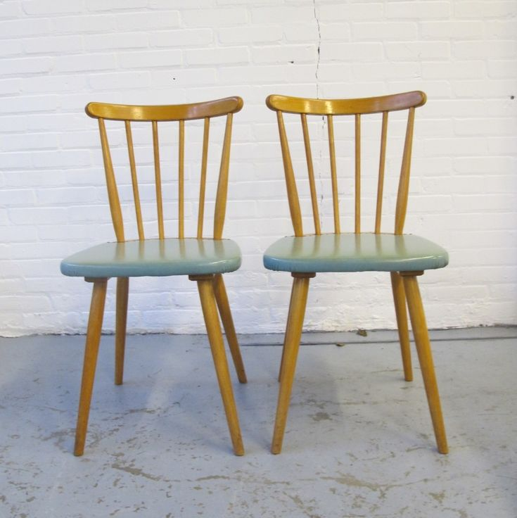 2 x vintage dinner chair, 1960s