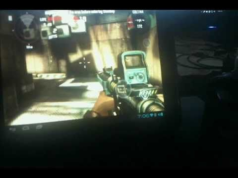 Dead Trigger HP Touchpad with Sixaxis App (now with info on enabling Teg...