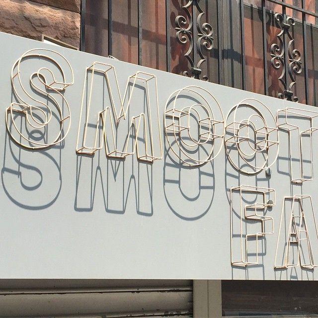 SMOOT FA. #dropshadows near #Typographics