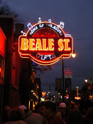 Beale St. Neon Sign ~ Memphis, Tenn. Fun with John, Ted, Linda, Tammy, and Mike Thanks John