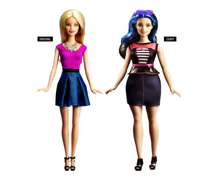 #Barbie 's got a new body #doll #beauty #fashion #art #teenager #style #kids #girl #toy #baby https://twitter.com/trendssoul/status/692795137508970496 http://time.com/barbie-new-body-cover-story/