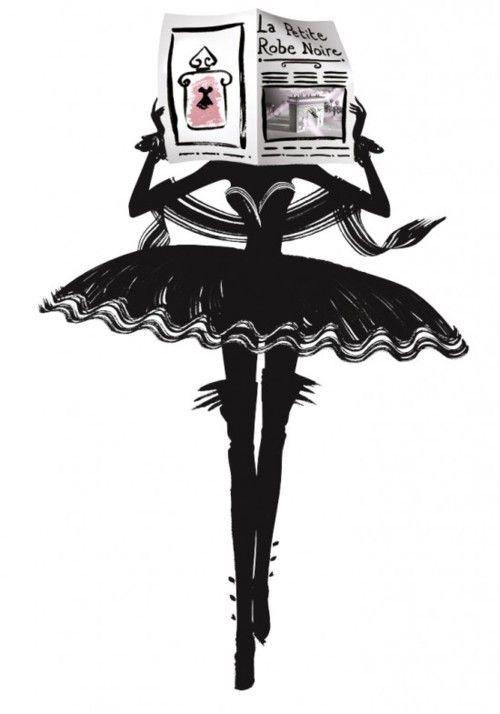 """#Publicité pour """"La petite robe noire"""" de #Guerlain."""