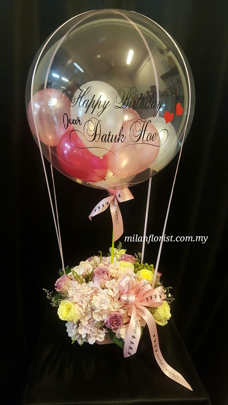 Life is like a baloon, if you never let yourself go, you will never know how far you can rise. -Milan Floris  #HappyBirthday #DatukHoe #FlowernBaloon #米兰花屋 #Flower #MilanStyle #milanflorist #MFMA #Florist 米兰花屋 Milan Florist Mount Austin Tel:016-7677027/016-7704487 www.milanflorist.com.my