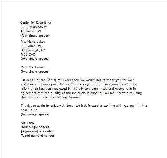 Best 25+ Simple resignation letter format ideas on Pinterest - sample thank you letter format