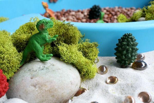 Dinosaur Sensory Bin | Fantastic Fun & Learning
