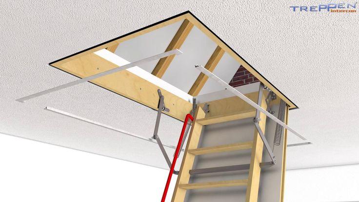 die besten 25 dachbodentreppe ideen auf pinterest bodentreppen bodentreppe und loft. Black Bedroom Furniture Sets. Home Design Ideas