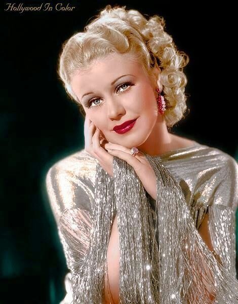 Ginger Rogers, beautiful photo of her