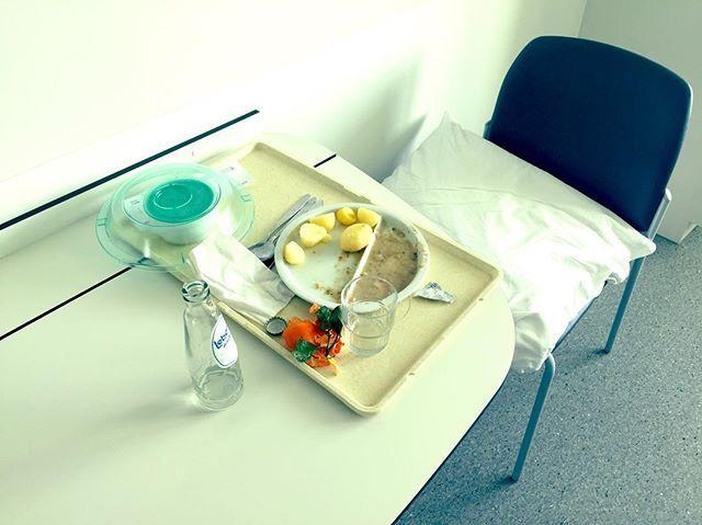 "Photography by Frank Brandwijk I 'Hospital Food' 'Restorative Dinner' 'No Taste"" 'Bad for the Body'"