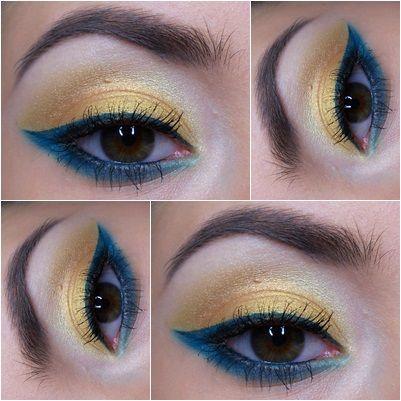 Graphic makeup Eye