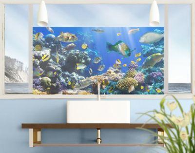 Luxury Fensterfolie Sichtschutz Fenster Underwater Reef Fensterbilder Jetzt bestellen unter