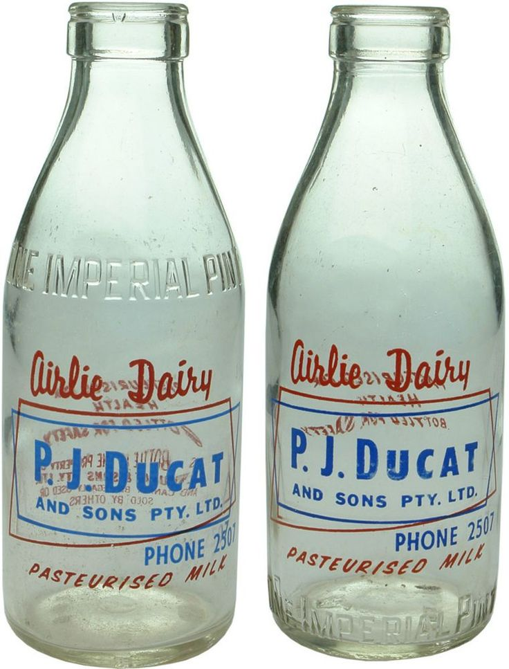 Auction 26 Preview | 598 | Ducat Shepparton Old Vintage Milk Bottles