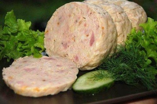 Рецепт домашних куриных колбасок