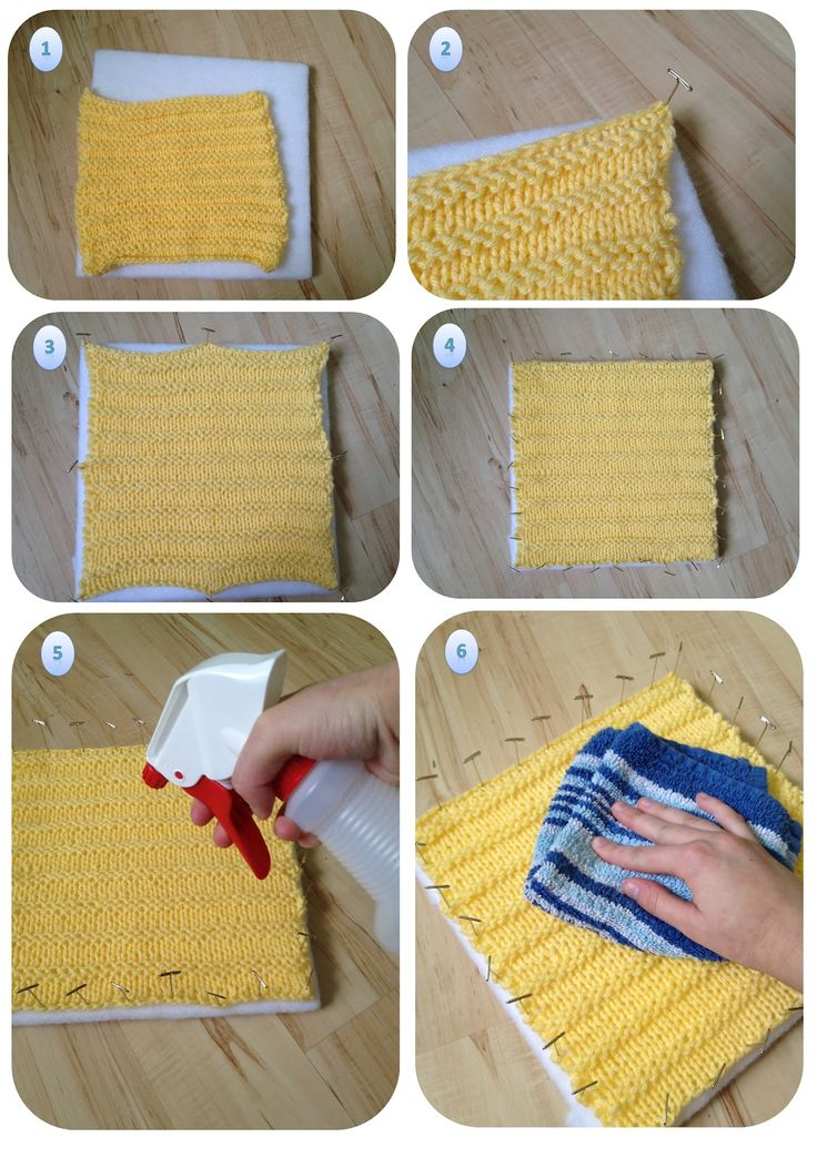 Blocking knitting- this is for knitting but you have to do it for crochet also... here's how ~!~