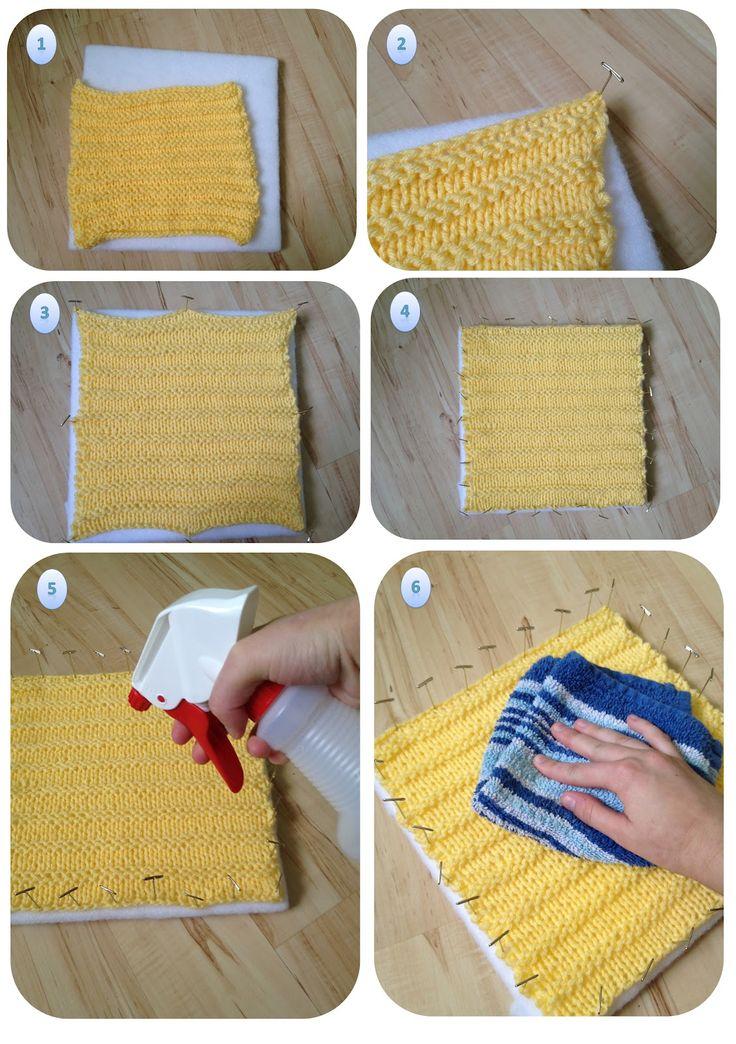 Tutorial: quadrados QUADRADOS de lã acrílica.