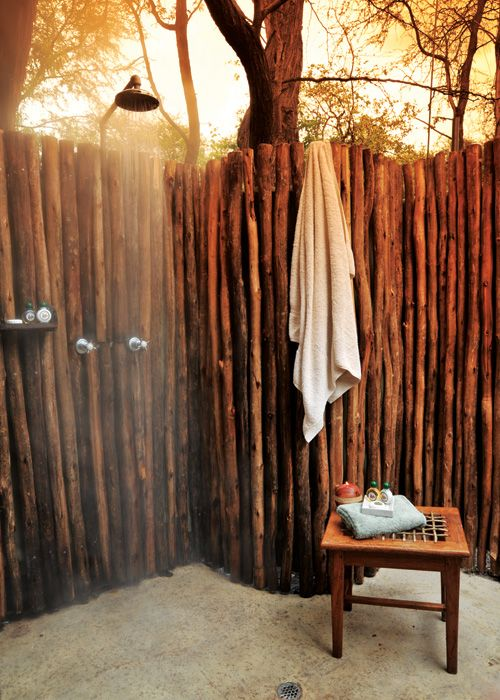 or an outdoor shower rather...
