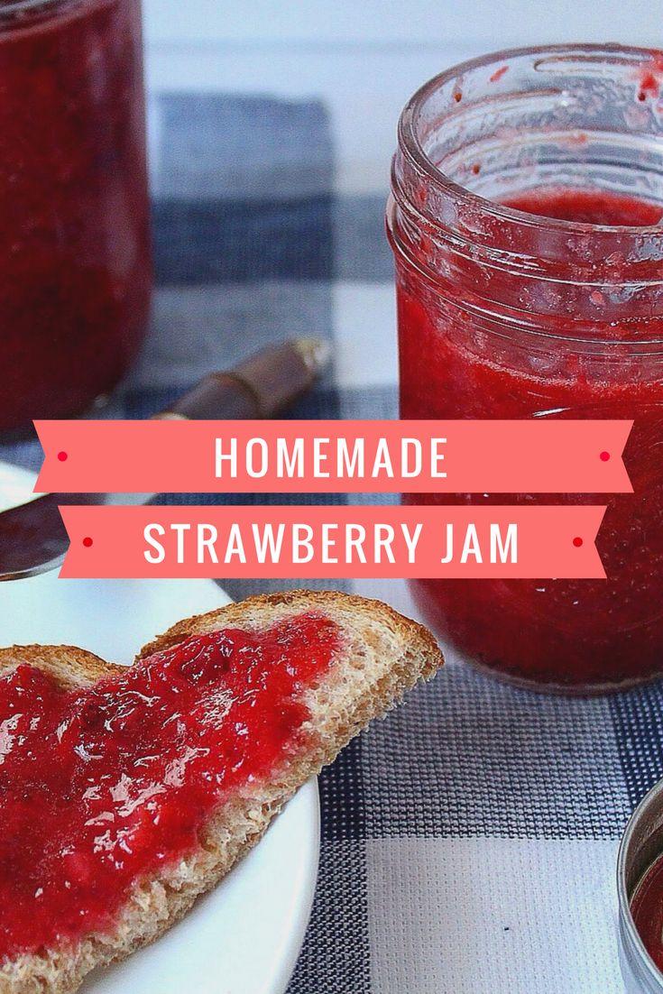 Tastiest Crockpot Strawberry Jam
