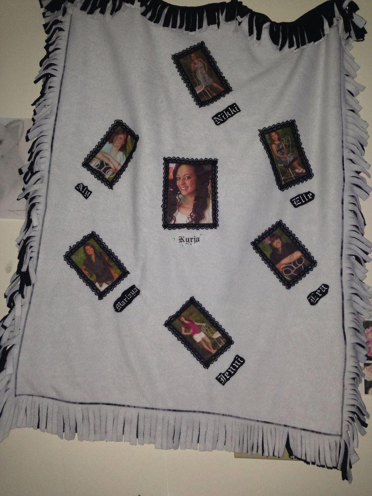 The first keepsake blanket I mafe