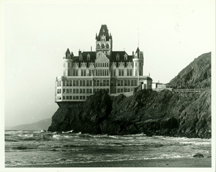 San Francisco Cliff House Hotel, Giclee Limited                   ed. Fine Art Print