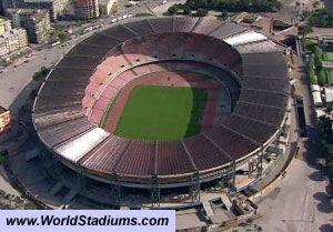 Stadio San Paolo Stadium in Napoli