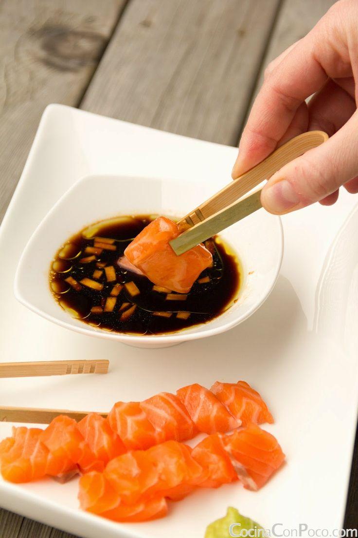 Sashimi de Salmon - Receta