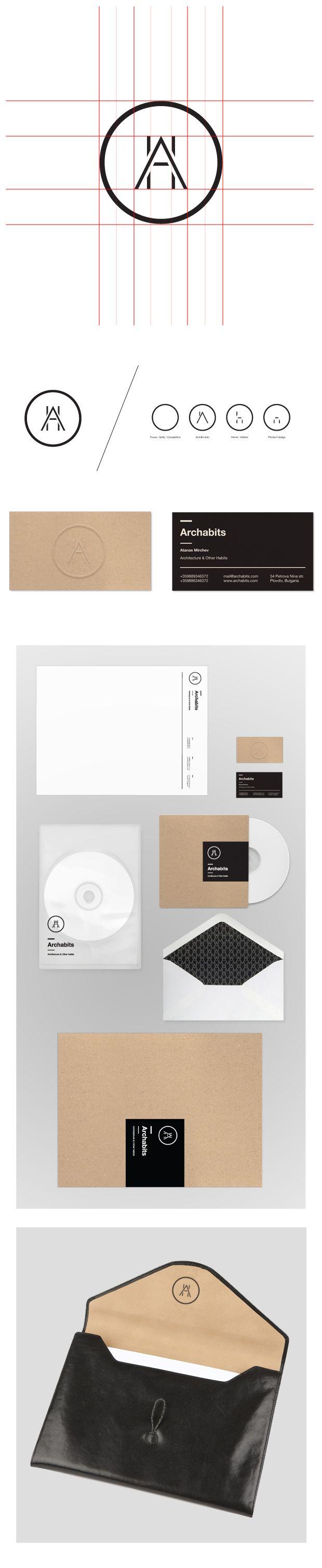 identity / archabits | #stationary #corporate #design #corporatedesign #identity #branding #marketing < repinned by www.BlickeDeeler.de | Take a look at www.LogoGestaltung-Hamburg.de