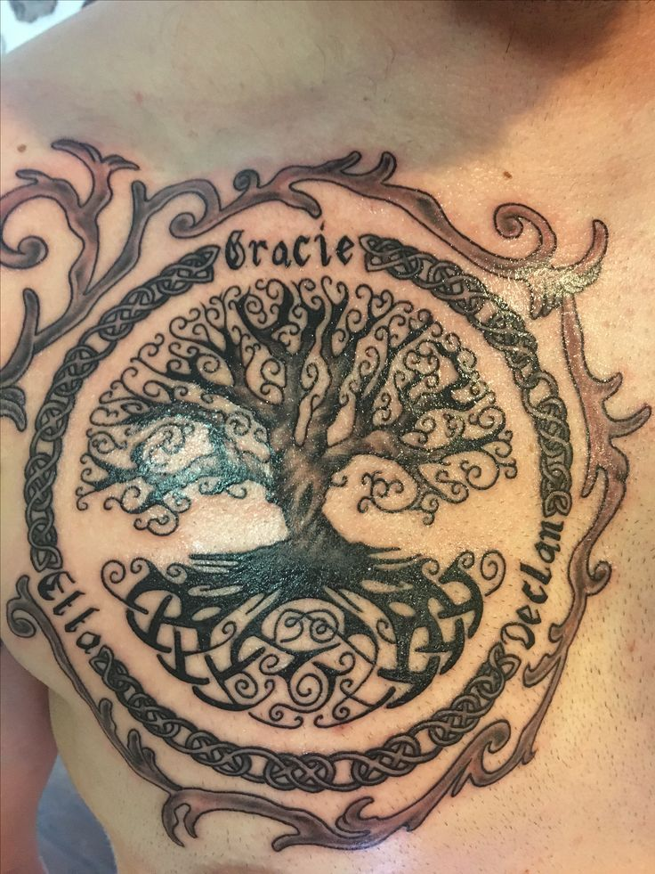 25 best ideas about celtic tree tattoos on pinterest yggdrasil tattoo tree tattoo back and. Black Bedroom Furniture Sets. Home Design Ideas