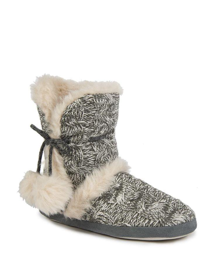 Fur Knit Boots